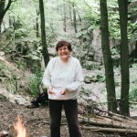 Babička u ohně