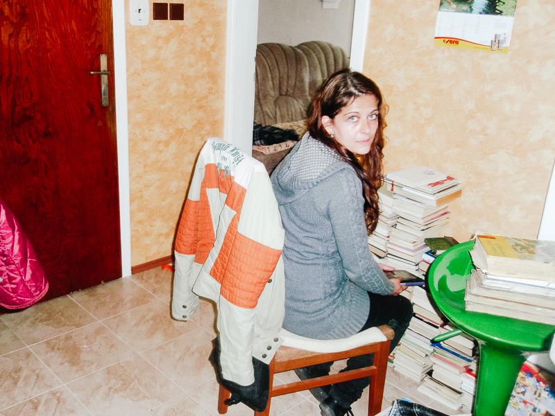 Klára a knížky od babičky