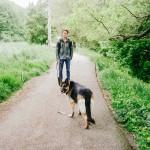 S Agnes na procházce