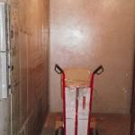 Ve výtahu v Hlubně