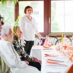 Rodinná oslava U Farlíků ve Křtinách