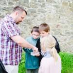 Nalezení keše ve Křtinách