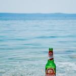 Pivo na pláži
