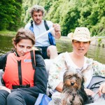 Sjíždění řeky Vltavy na raftu