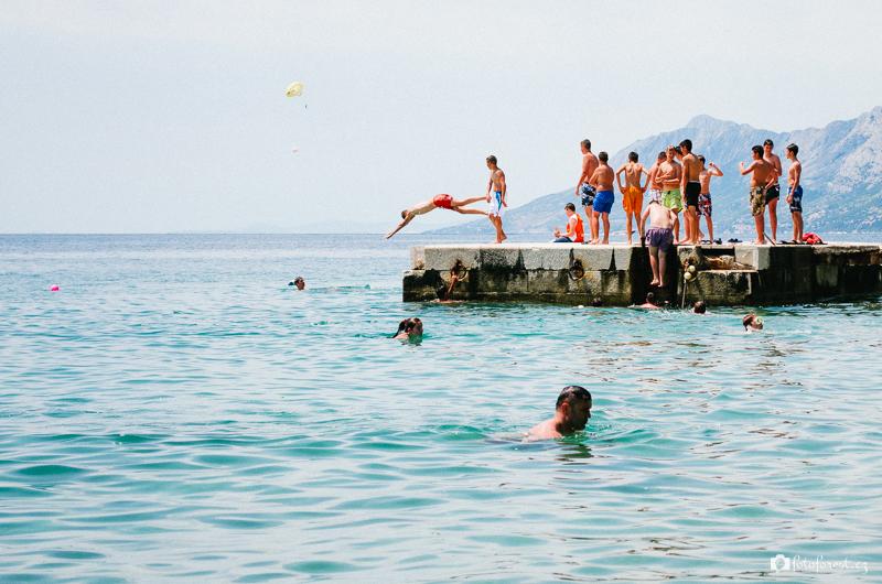 Pohoda na dovolené v Chorvatsku
