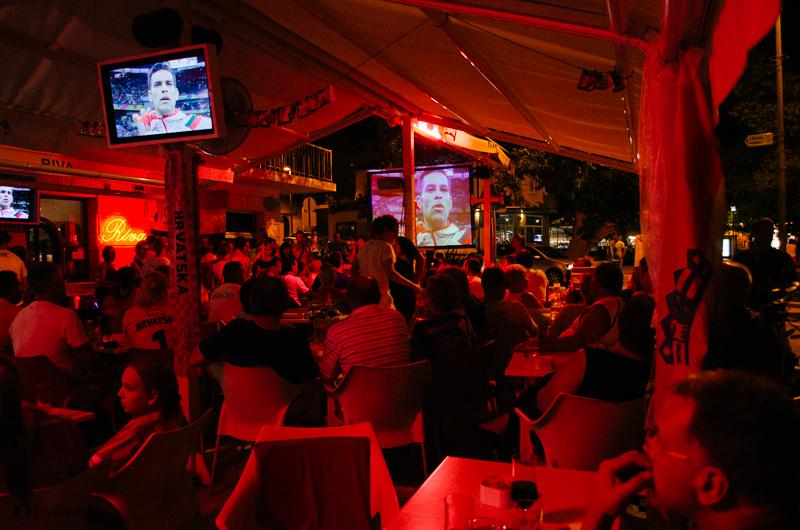Atmosféra na MS ve fotbale v Chorvatsku