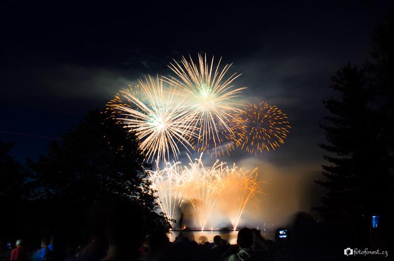 Ohňostroje Ignis Brunensis 2014 Brno