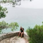Na vyhlídce na moře