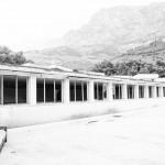 Opuštěný hotel v Krvavici v Chorvatsku