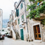Zákoutí v chorvatské Makarske