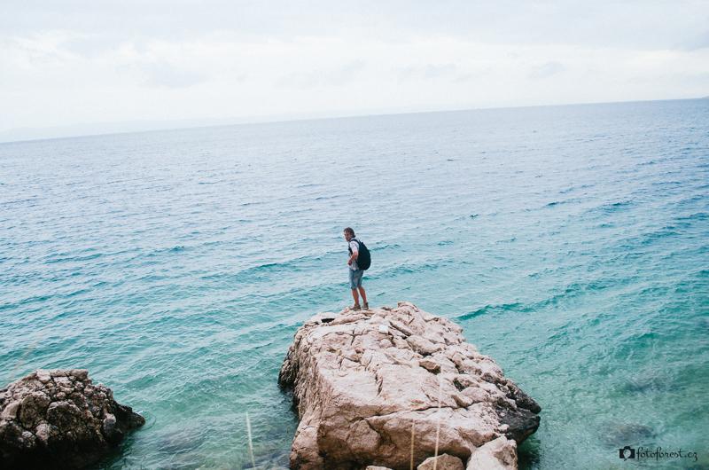 Hledání věcí na břehu