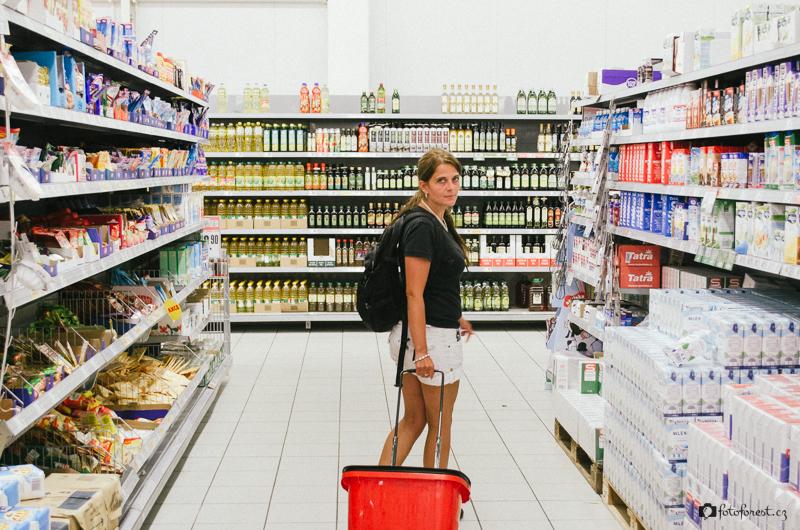 Nakupujeme v Intersparu