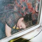Vlaďka ve vlaku