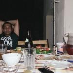 Tibor po náročném večeru