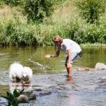 S Maryn v řece