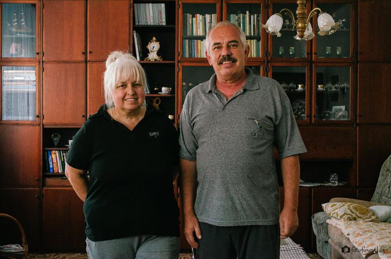 Moje babička s dědou