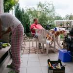 Grilování na zahradě
