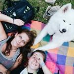 Na letním táboře v Borači