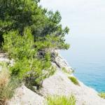 U moře v Chorvatsku