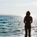 Klára v moři