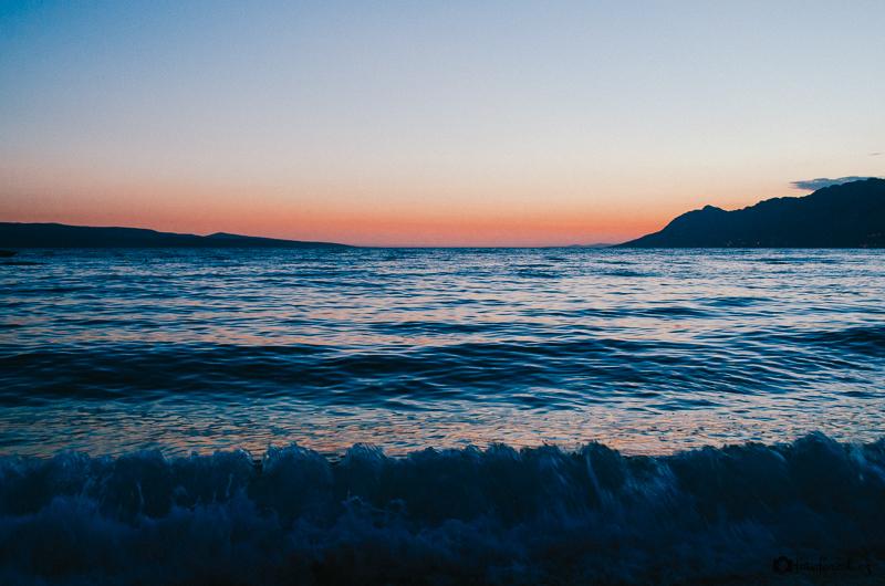 Focení západu slunce v Chorvatsku