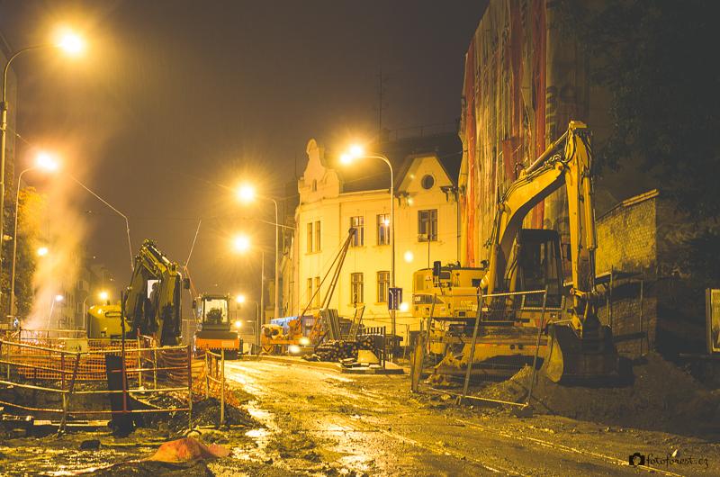 Oprava Milady Horákové a Merhautové ulice v Brně