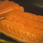 Kradený losos na pánvi