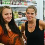 Radka s Klárou v Limotéce
