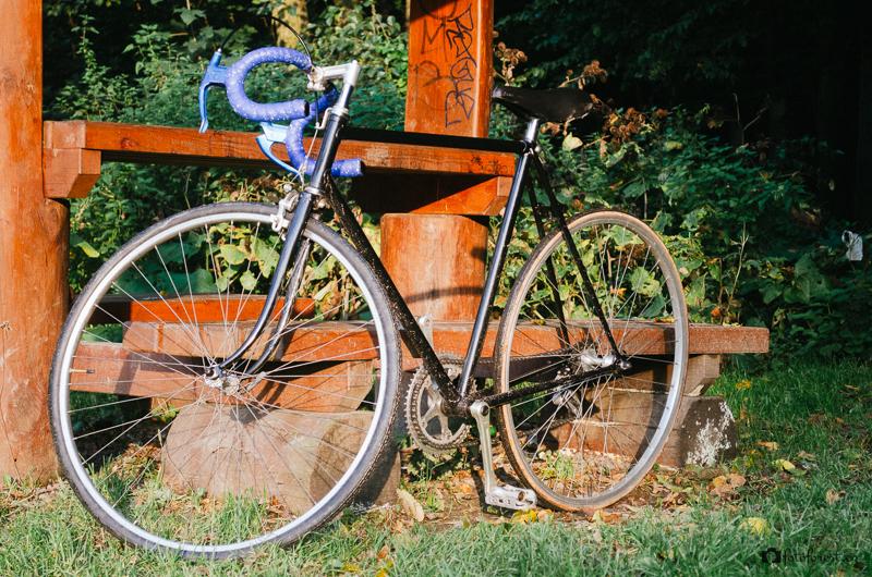 Na kole v Údolí oddechu