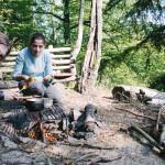 Vaříme oběd v lese