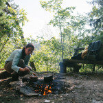 Vaříme oběd v lese u Oslavky