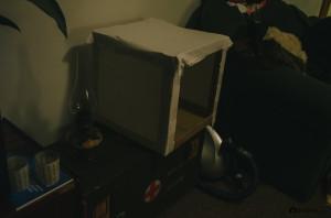 DIY vlastní výroba soft boxu
