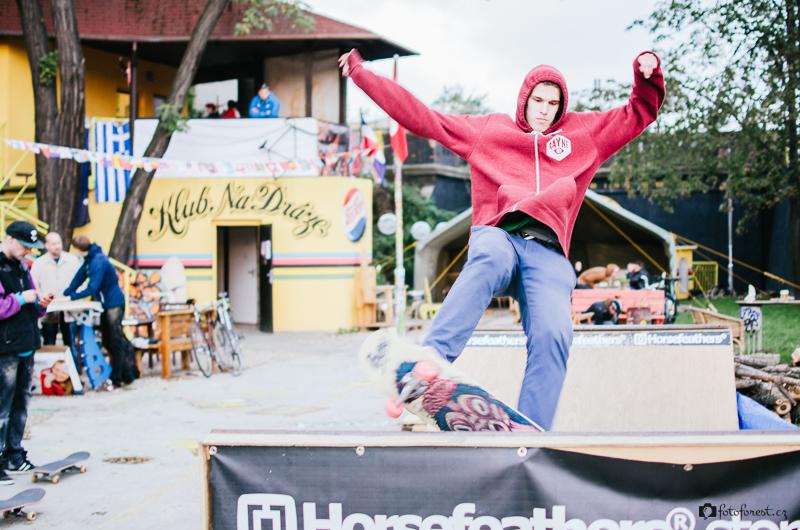 Skate mini rampa v FBB klubu Na Dráze Brno