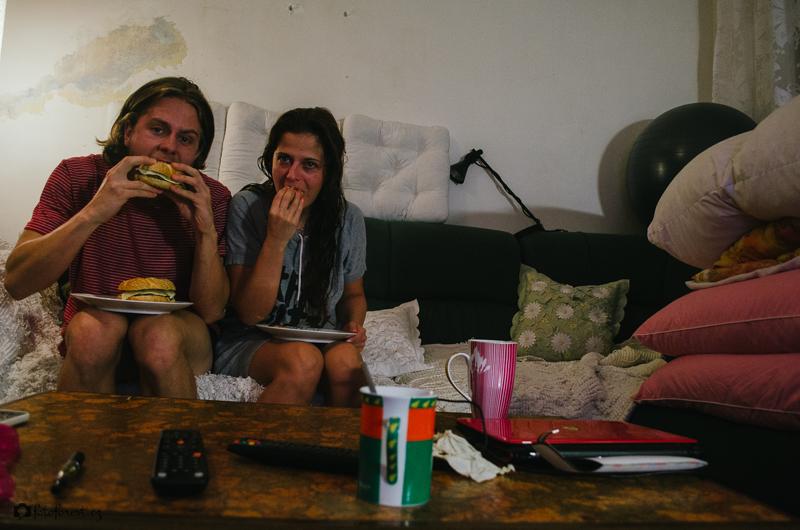 Jíme burgery