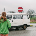 Na benzince v Polsku