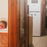 Klára ve vaně