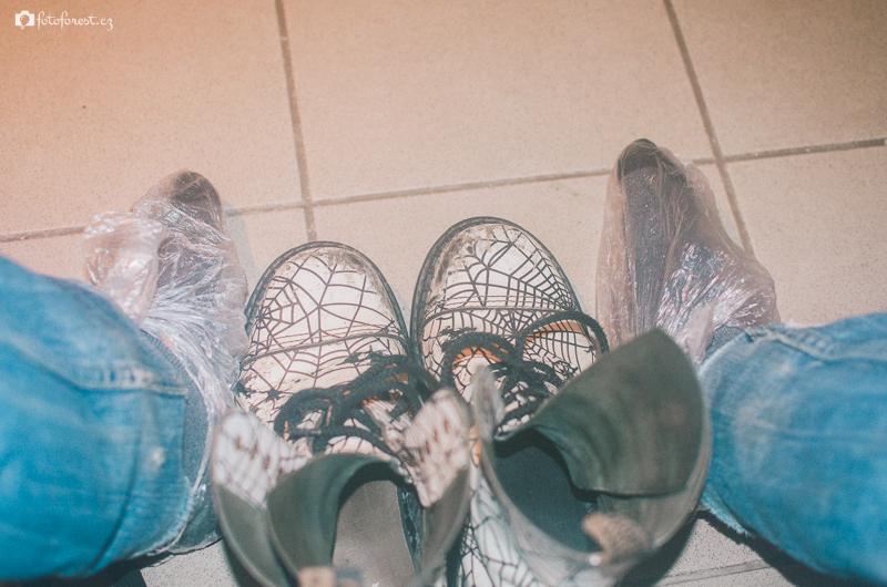 Hlavně nohy v suchu