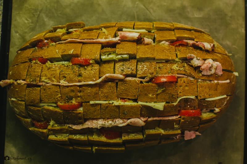 Zapečený chléb