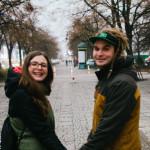 Monika a Honza ve Varšavě