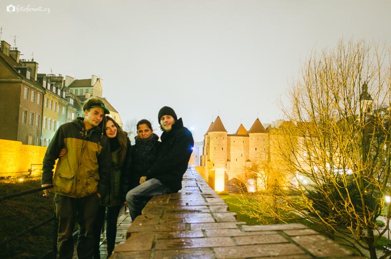 Na výletě ve Varšavě