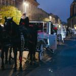 Koňské vozy v Krakově