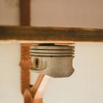 Originální dárek - ručně vyrobená polička a lampičkaě