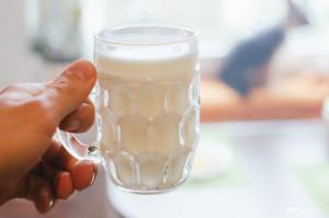 Sklenice mléka