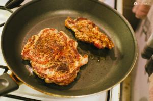 Steak na pánvi