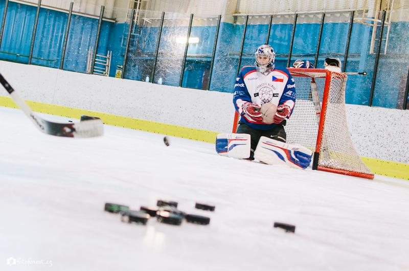 Hokejový trénink Warrior Brno Úvoz