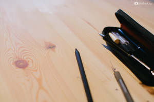 Stůl u palet