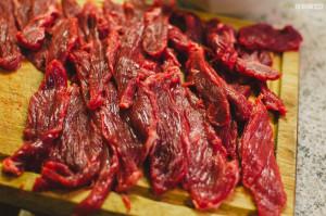 Hovězí maso na sušení