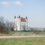 Poutní kostel Sv. Floriana Moravský Krumlov