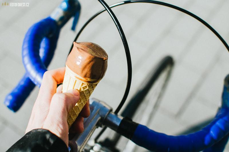 Zmrzlina z Aidy na kole