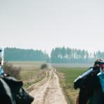 Cesta přes pole za Zňátkami
